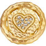 Gold Plated - CZ 14 mm
