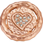 Rose Plated - CZ 14 mm