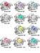 929000 - Bacio Junior Birthstones