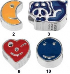 bacj09162 - Bacio Junior - Classic Enamel Beads