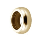 78000G - Bacio O Ring - Gold Plated
