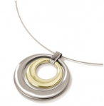0724-02 - Boccia Two Color Pendant