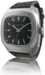 cop11010 - Copha Stealth - Black Dial - Black Leather Strap