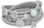 EJ-Light Blue (Wikkel) - Enchanted Jewels Bracelets - Light Blue
