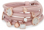EJ-Pink (Wikkel) - Enchanted Jewels Bracelets - Pink