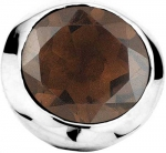 BR-830 - Enchanted Jewels Elements - Smokey Quartz Silver