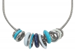 ESNL11824B750 - Esprit Necklace Marin 68 - Mix Blue Turquoise