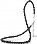 pur08007 - Pure Onyx Necklace