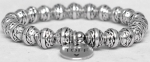 toff100007 - Toff Metalen Armband (Rond)